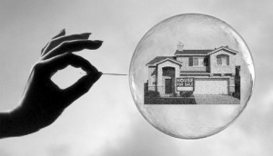 housing bubble is about to pop