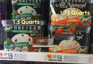 breyers is smaller