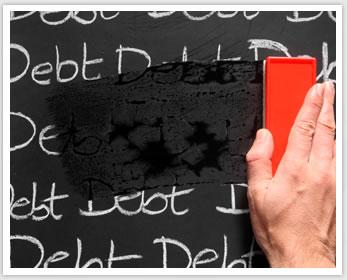 erase debt - Save Money
