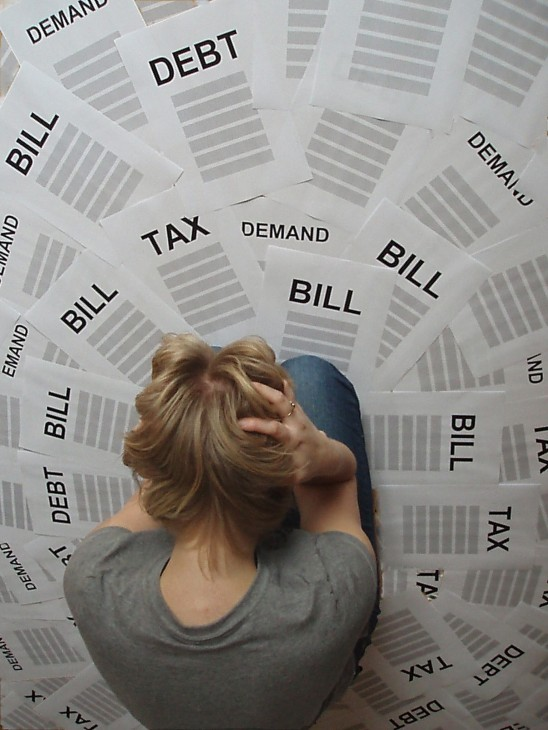 Get Out of Debt in 2012: How Much Do You Owe?