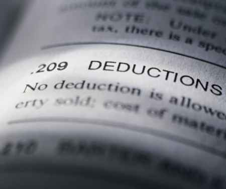 Applying All the Right Deductions to Increase That Return