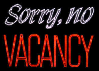 No Vacancy For You - I'm Quitting My Job And Retiring by 40
