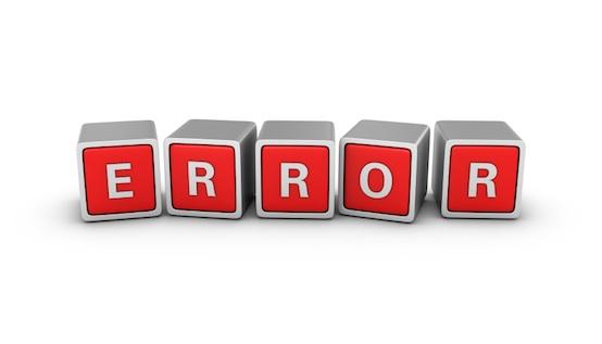 credit errors