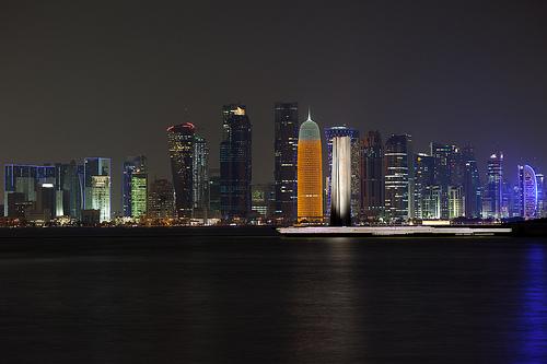 qatar skyline - Qatars