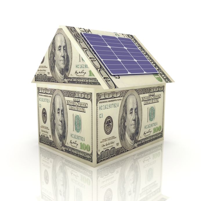 solar-money-house- solar energy