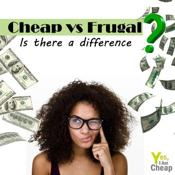 cheap versus frugal