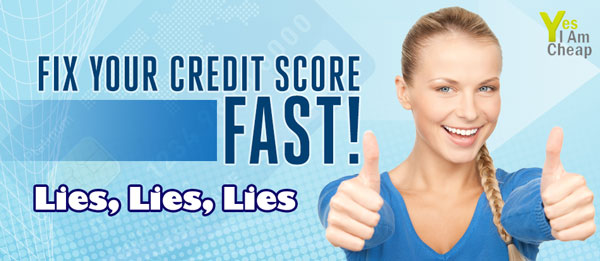 fix credit lies