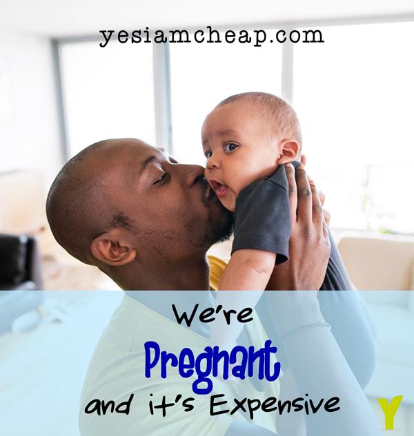 we're pregnant Pinterest image