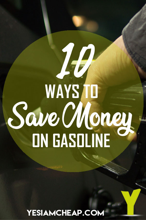 10 ways to save money on gasoline