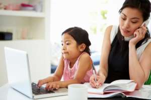 home-based business means being an entrepreneur and a parent